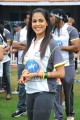 Actress Genelia in CCL 2 Semi Final Match