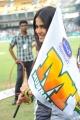 Actress Genelia in CCL 2 Semi Final Match
