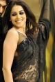 Genelia Hot in Black Saree from Naa Ishtam Movie