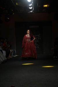 Actress Genelia D'Souza Photos @ Lakme Fashion Week Winter Festive 2019