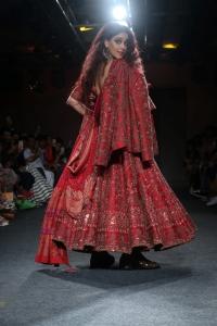Actress Genelia D'Souza Ramp Walk Photos @ Lakme Fashion Week Winter Festive 2019