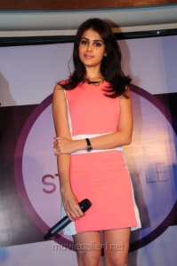 Actress Genelia in Pink Dress @ Myntra Star N Style Icon Photos
