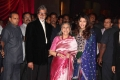 Amitabh Jaya Aishwarya Rai Bachchan @ Genelia Wedding Reception Stills