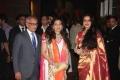 Juhi Chawla Rekha at Genelia Wedding Reception Stills