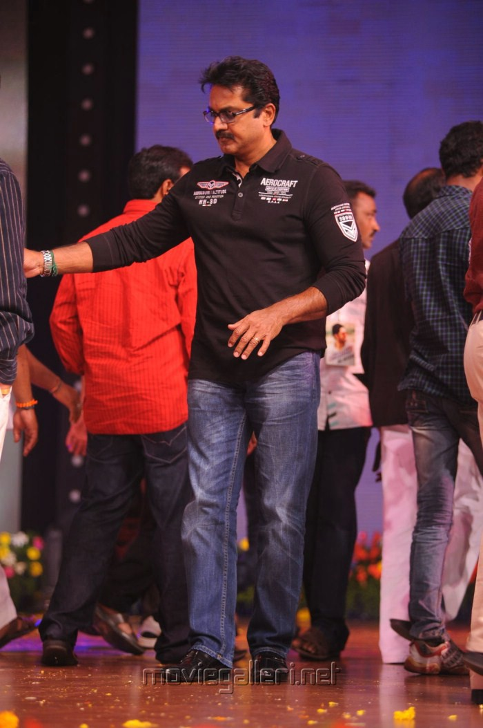 Sarathkumar at Genius Movie Audio Release Function Photos