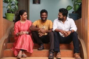 Priya Lal, Suseenthiran, Roshan @ Genius Movie Team Interview Photos