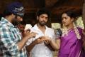 Omkar,Havish,Sanusha at Genius Movie Working Stills