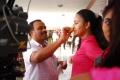 Actress Abhinaya at Genius Movie Working Stills