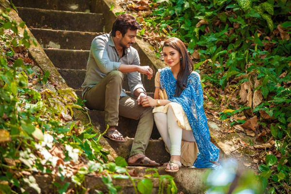 Udhayanidhi Stalin, Amy Jackson in Gethu Movie First Look Images