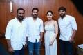 Sakthivelan, Santhosh Jayakumar, Sayyeshaa, Arya @ Ghajinikanth Movie Press Meet Stills