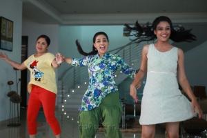 Kovai Sarala, Nithya Menen in Ghatana Movie Latest Stills