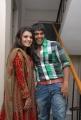 Tashu Kaushik, Srinivas at Gola Seenu Movie Audio Launch Photos