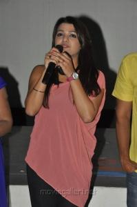 Actress Tashu Kaushik in Gola Seenu Team at Usha Mayuri Theatre Photos