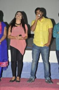 Tashu Kaushik, Srinivas in Gola Seenu Team at Usha Mayuri Theatre Photos