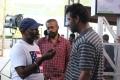 Vijay Milton, Gautham Menon, Samuthirakani @ Goli Soda 2 Movie Shooting Photos