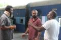 Samuthirakani, Gautham Menon, Vijay Milton @ Goli Soda 2 Movie Shooting Photos