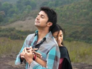 Viraat Vellanki & Prakruthi in Good Morning Movie Stills