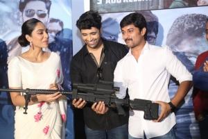 Sobhita Dhulipala, Adivi Sesh, Nani @ Goodachari Movie Trailer Launch Photos