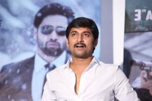 Nani @ Goodachari Movie Trailer Launch Photos
