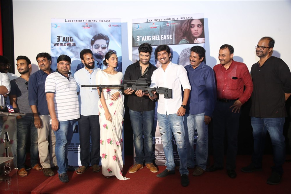 Goodachari Movie Trailer Launch Photos