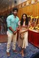 Tharshan, Losliya @ Google Kuttappan Movie Pooja Stills