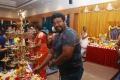 R Parthiban @ Google Kuttappan Movie Pooja Stills
