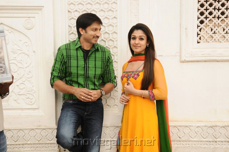 Gopichand Nayanthara in Boopathy Pandian Movie Stills