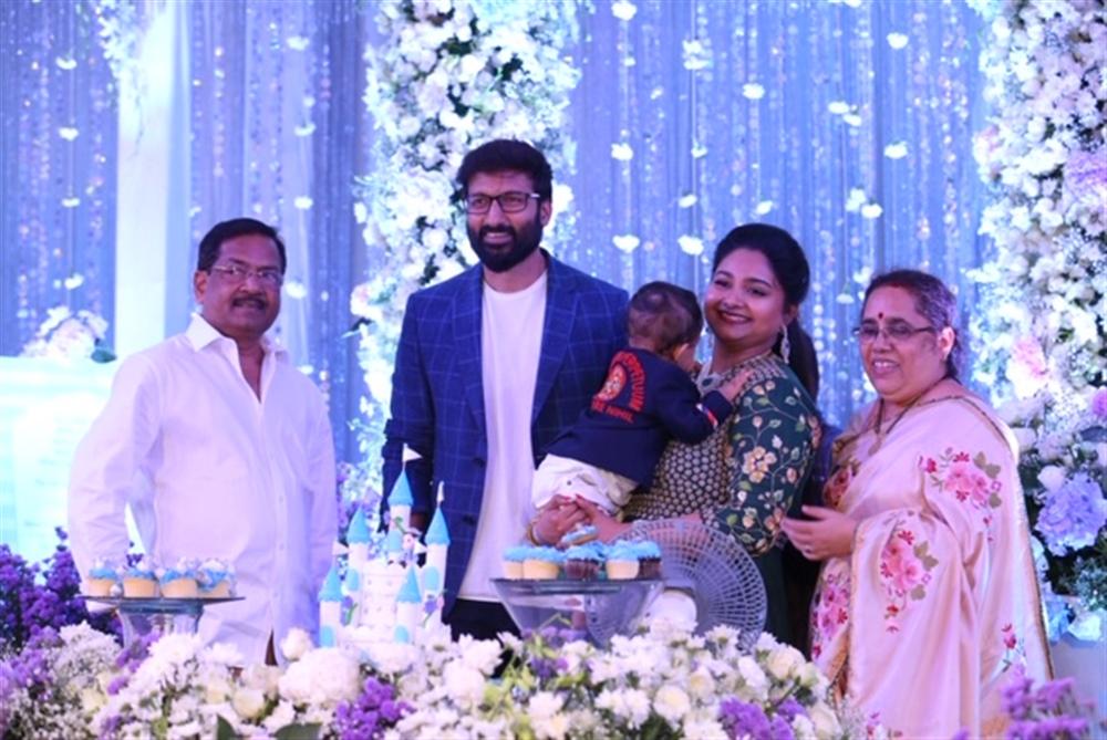 B Gopal @ Gopichand's youngest son Viyaan's 1st Birthday Celebrations Stills