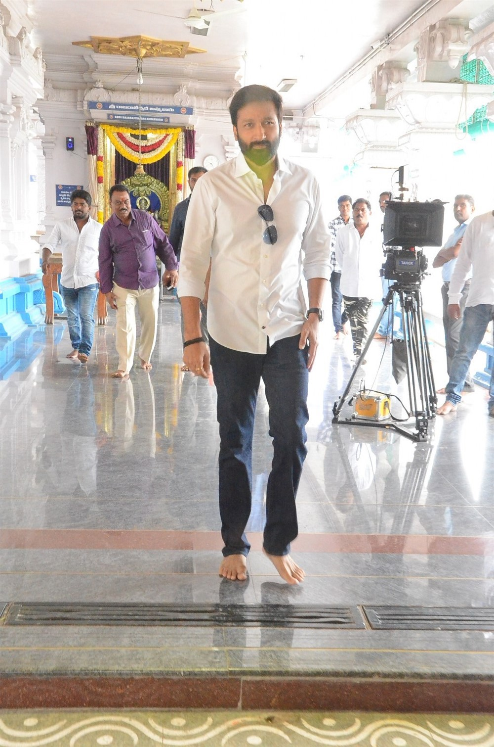 Gopichand @ SVCC26 Movie Opening Stills