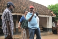 Director Radha Mohan at Gouravam Movie On Location Photos