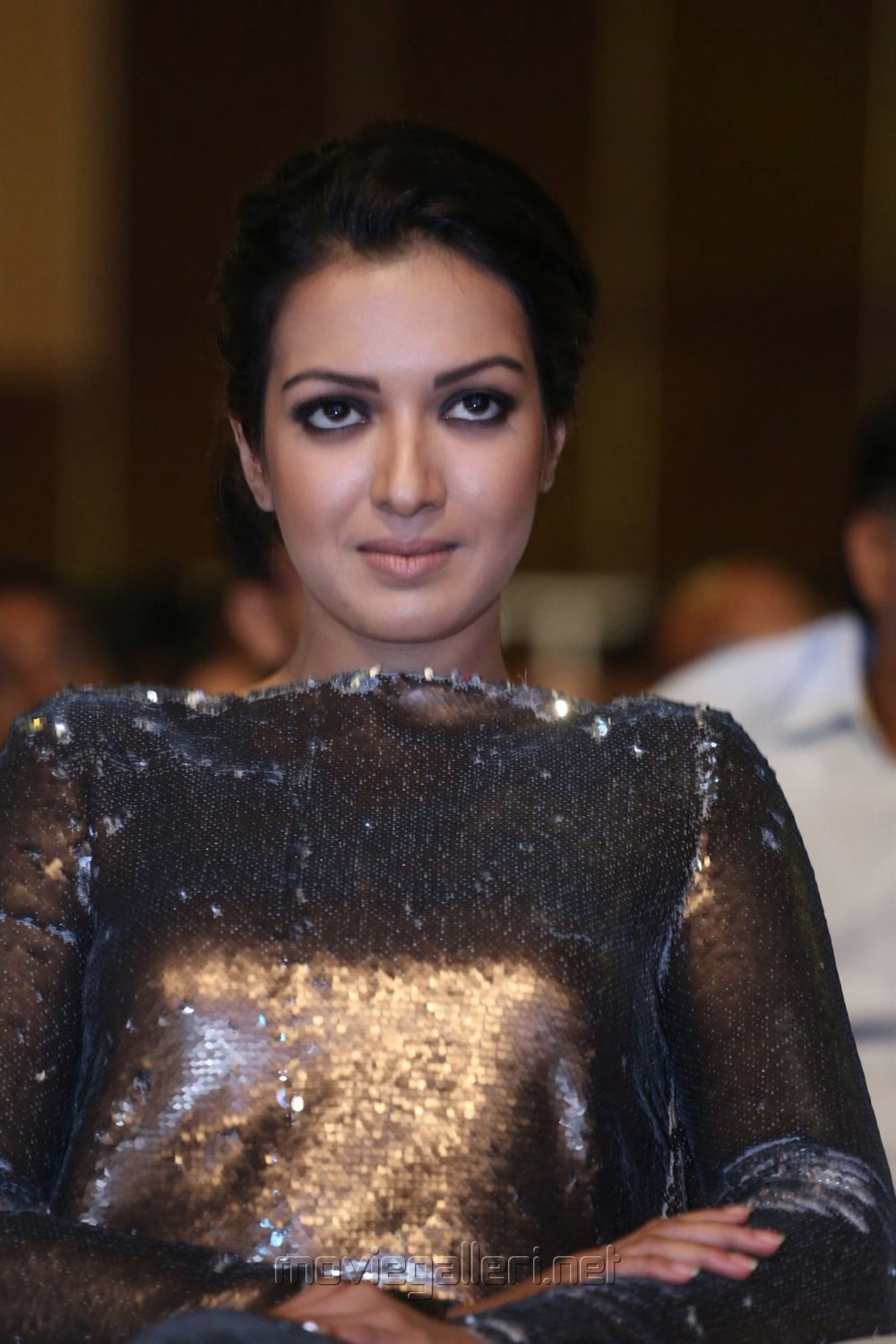 Actress Catherine Tresa @ Goutham Nanda Audio Launch Stills