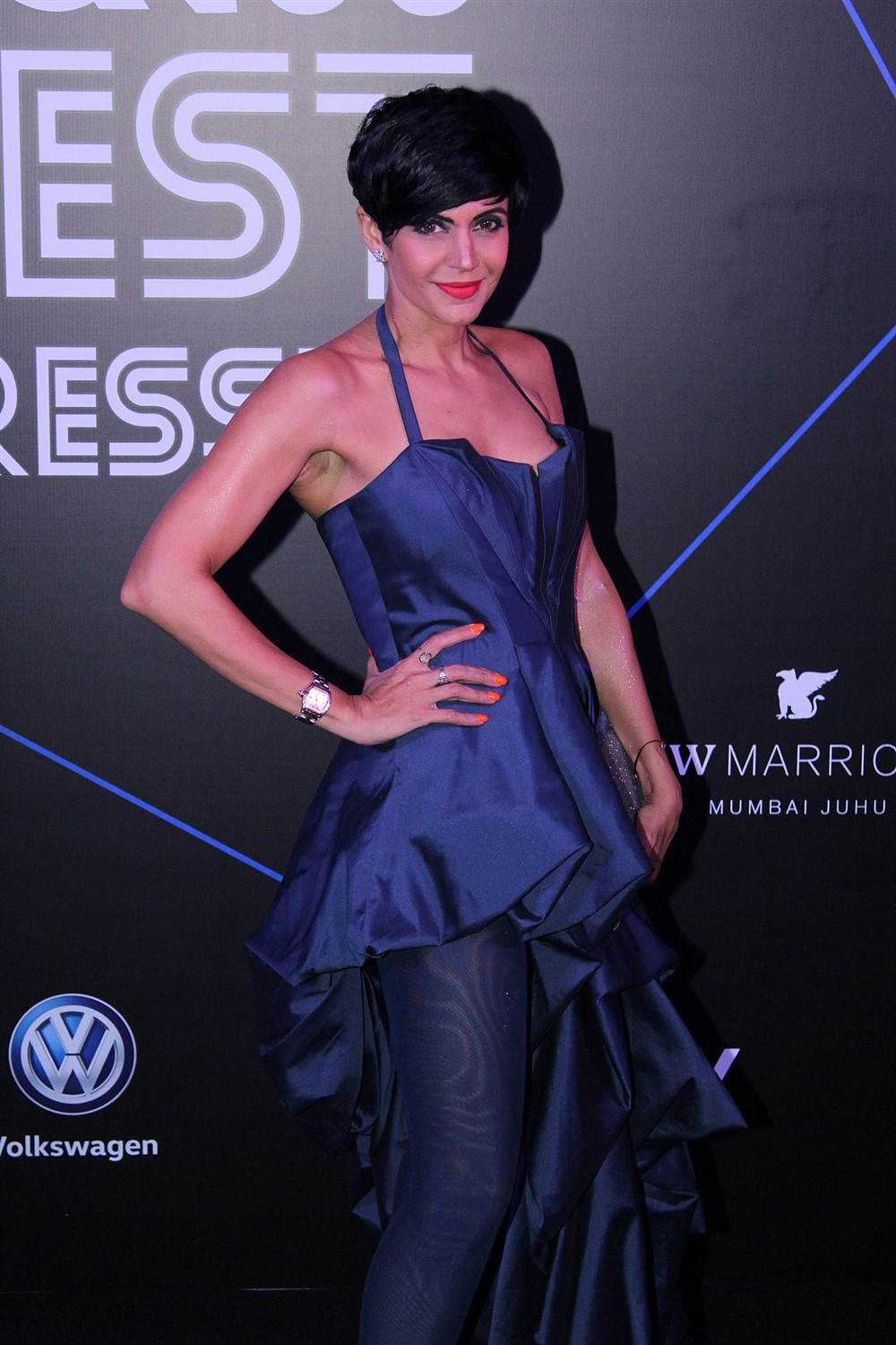 Actress Mandira Bedi @ GQ Best Dressed Awards 2019 Red Carpet Stills