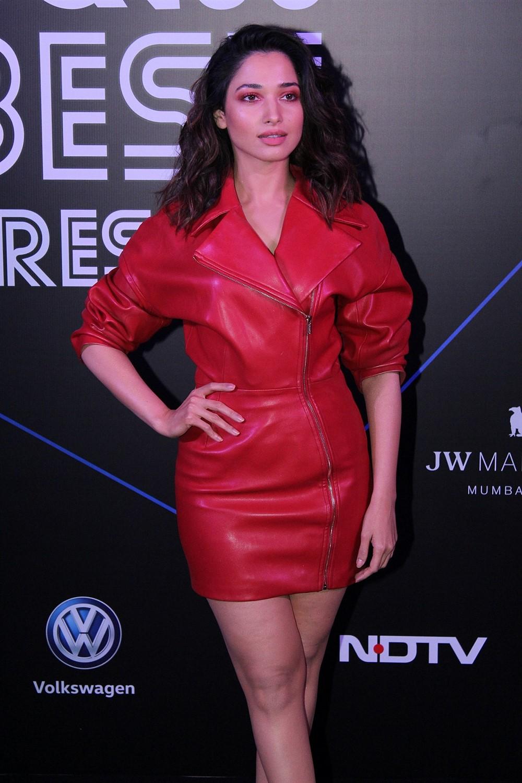 Actress Tamannaah Bhatia @ GQ Best Dressed Awards 2019 Red Carpet Stills