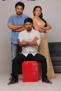Kreshna, Chandran & Nandini Rai in Graghanam Movie Stills