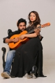 Chandran, Nandini Rai in Graghanam Movie Stills