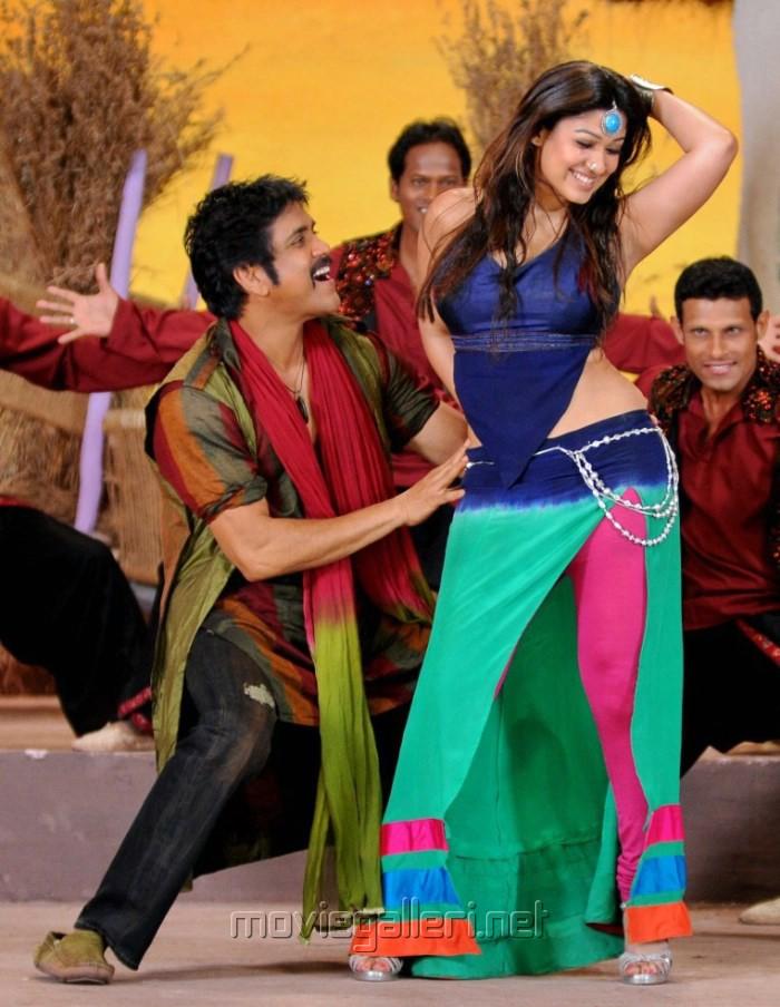 Nagarjuna, Nayanthara in Greeku Veerudu Movie Latest Stills