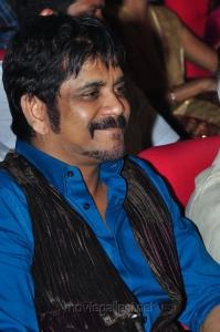 Nagarjuna at Greeku Veerudu Movie Audio Release Stills