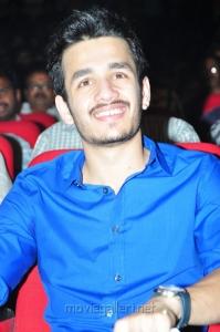Akhil Akkineni at Greeku Veerudu Movie Audio Release Stills