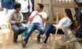 Dasarath, Nagarjuna, Nayanthara at Greeku Veerudu Shooting Spot Stills