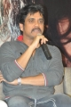 Actor Nagarjuna at Greeku Veerudu Movie Trailer Launch Stills