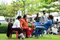 Venu Madhav, Brahmanandam, Nagarjuna at Greeku Veerudu Movie Working Photos