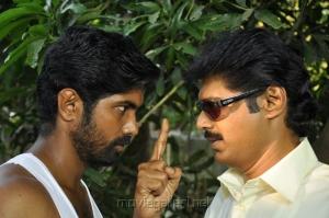 Aravind Kalathar, Subbu Panchu in Gugan Tamil Movie Stills