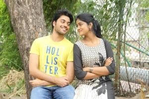 Chetan, Dimple in Gulf Telugu Movie Stills