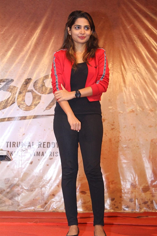 Actress Anagha @ Guna 369 Promotional Tour at RVR & JC College of Engg Guntur Photos