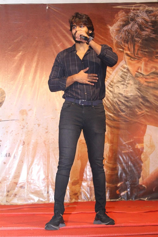 Actor Kartikeya @ Guna 369 Promotional Tour at RVR & JC College of Engg Guntur Photos