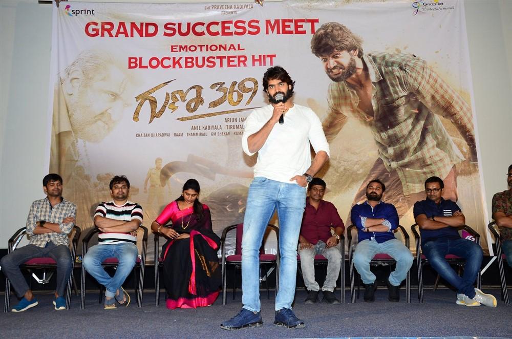 Kartikeya @ Guna 369 Success Meet Stills