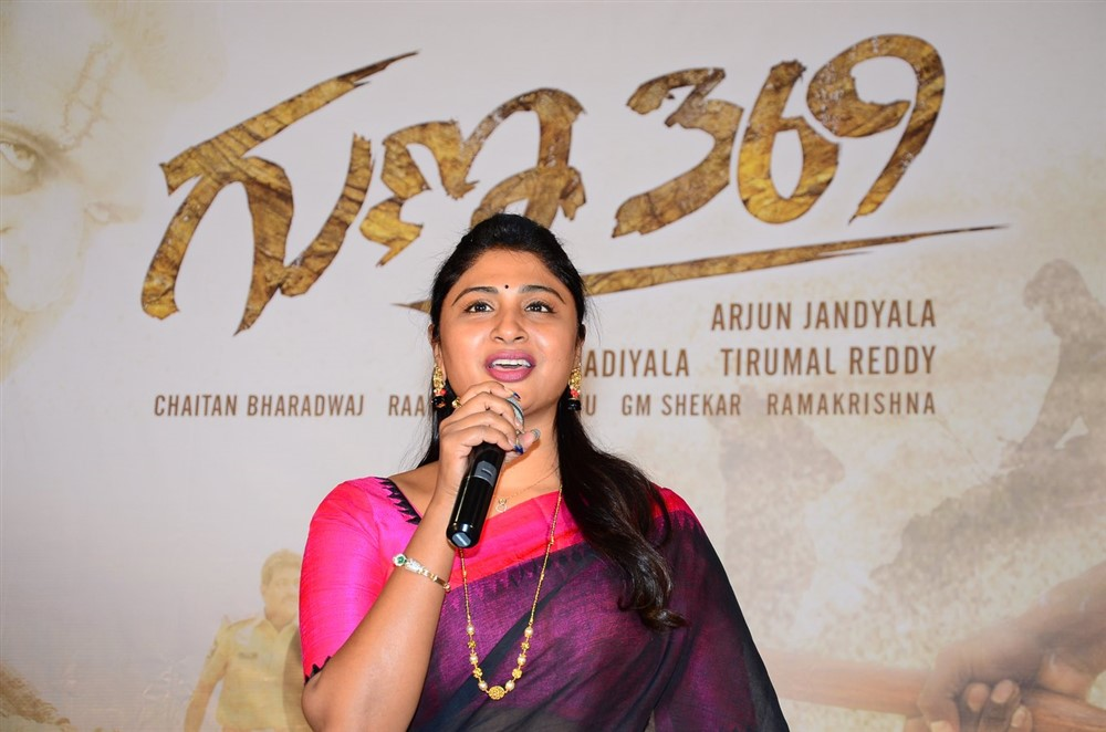 Praveena Kadiyala @ Guna 369 Success Meet Stills