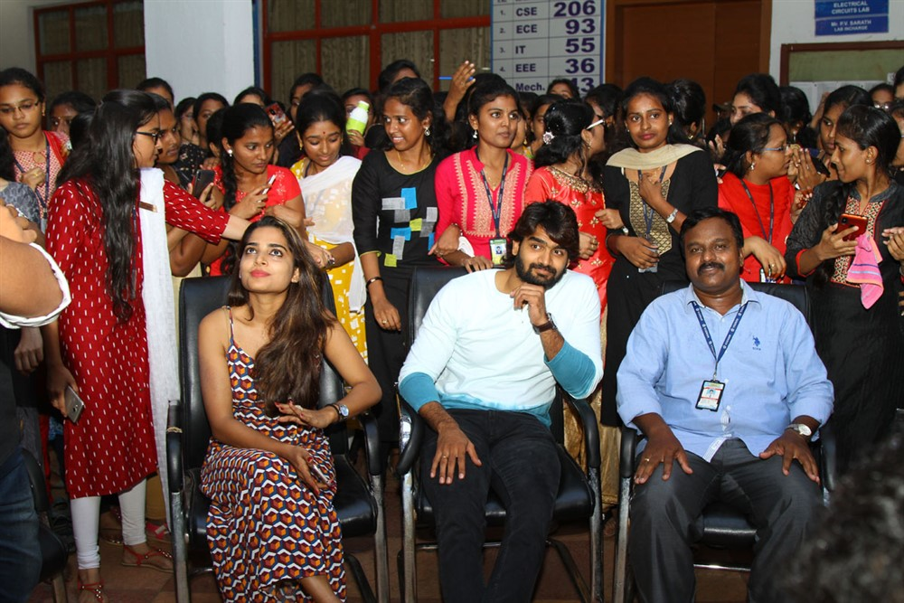 Guna 369 Movie Team @ Vignan College, Vizag