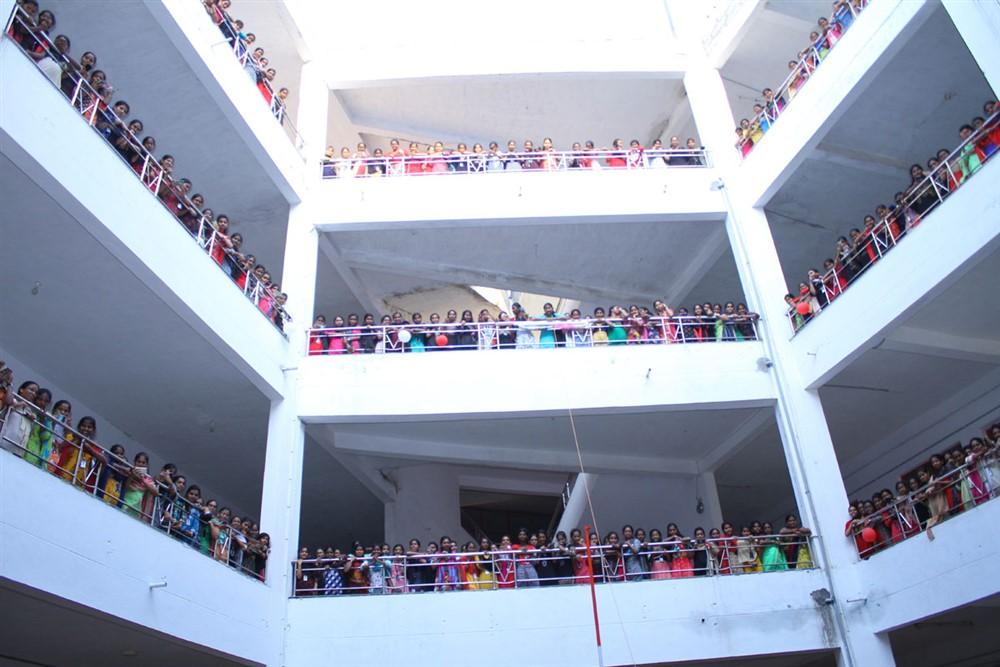 Guna 369 Movie Team at Vignan College Stills