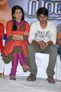 Taapsee Pannu, Sundeep Kishan at Gundello Godari Movie Success Meet Stills